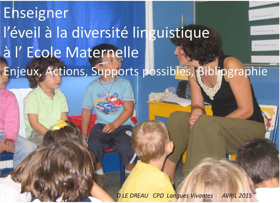 Enjeux, Actions, Supports possibles,