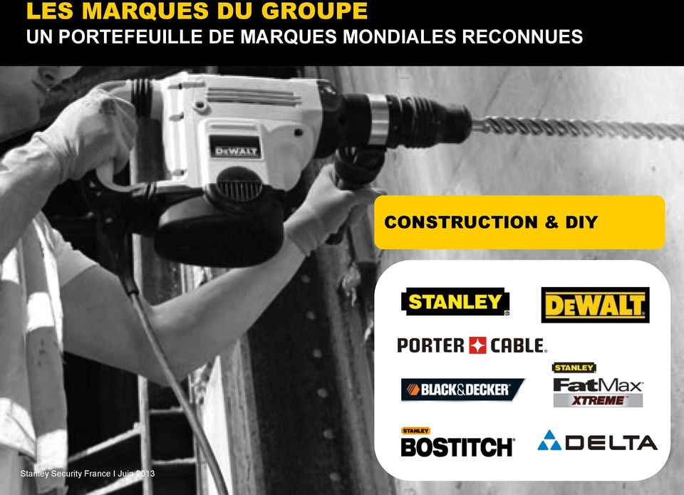 & DIY Stanley Security France I Juin