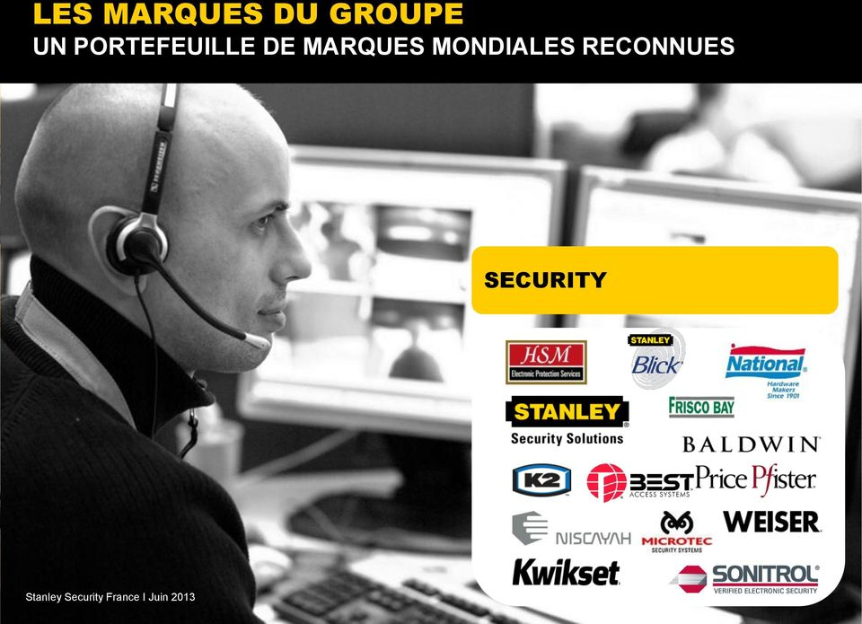 SECURITY Stanley Security France I