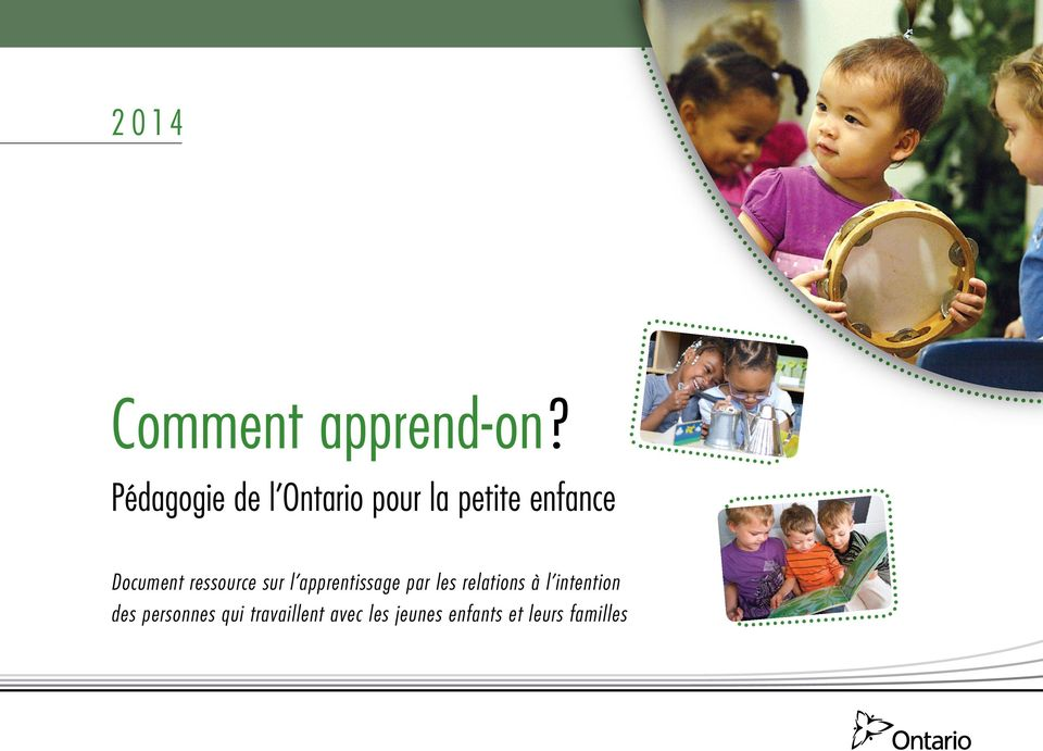 Document ressource sur l apprentissage par les