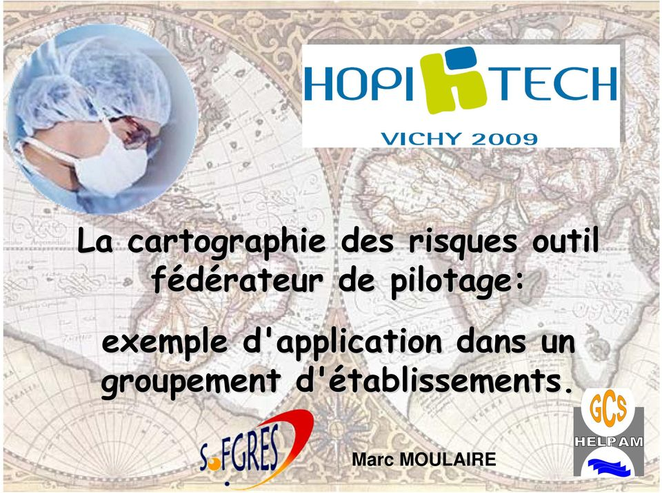 exemple d'application dans un