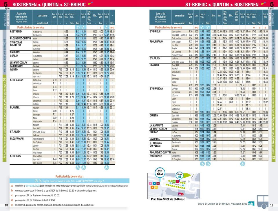 Guide horaires 2015 pdf for Horaire piscine lannion