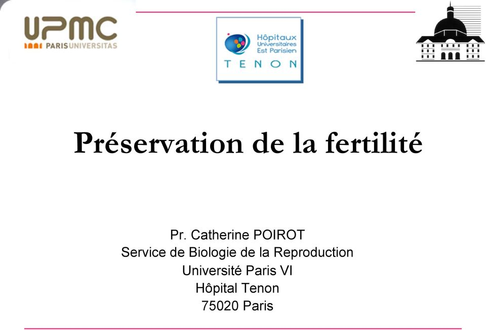 Biologie de la Reproduction