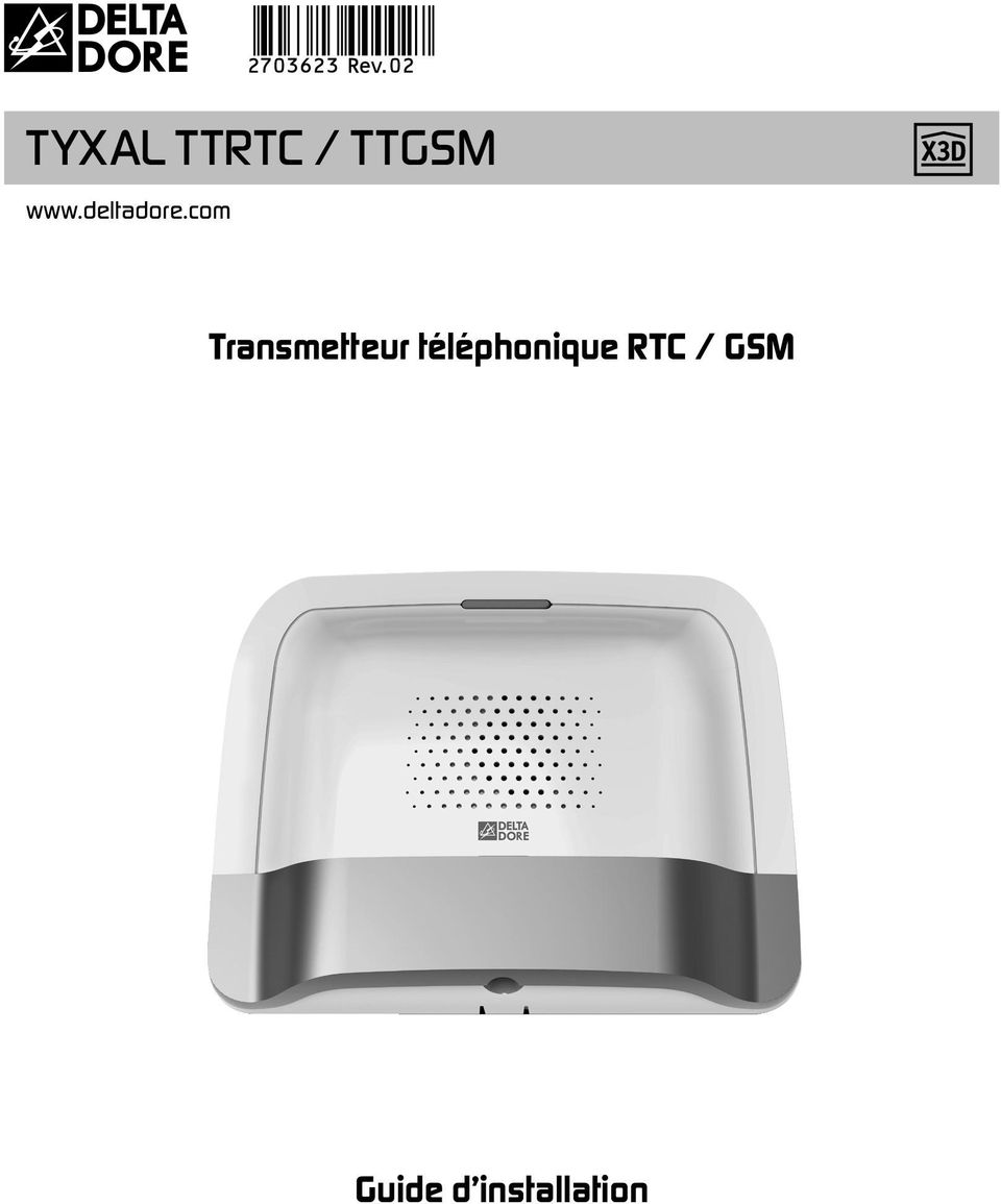 tyxal ttrtc ttgsm transmetteur t l phonique rtc gsm guide d installation pdf. Black Bedroom Furniture Sets. Home Design Ideas