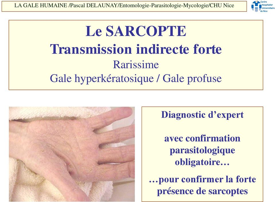 Diagnostic d expert avec confirmation