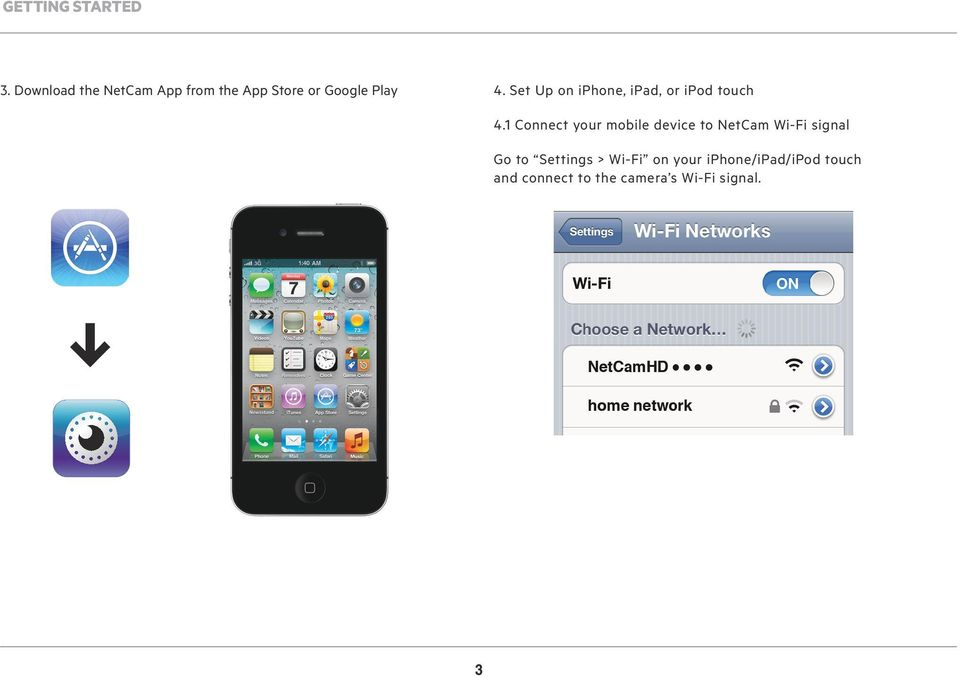 Set Up on iphone, ipad, or ipod touch 4.