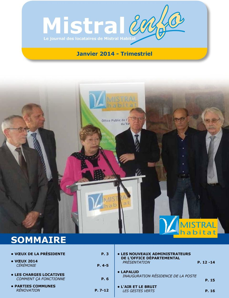 6 PARTIES COMMUNES RÉNOVATION P.