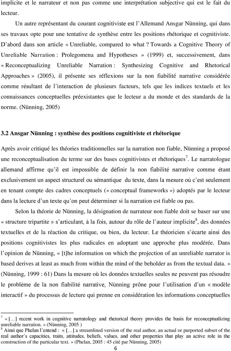 D abord dans son article «Unreliable, compared to what?