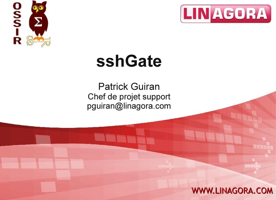 projet support