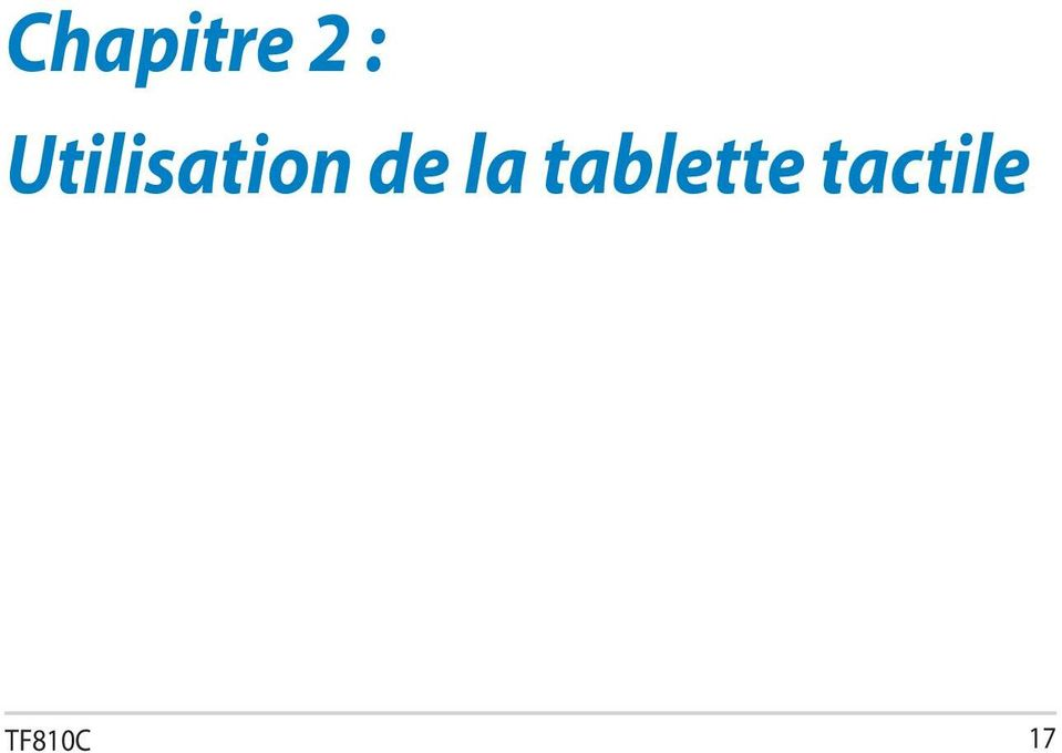 la tablette tactile TF810C