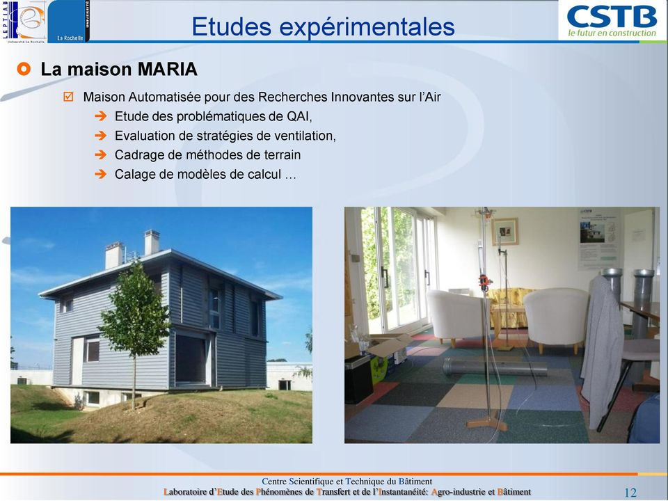 Analyse multicrit re des strat gies de ventilation en for Analyse air maison