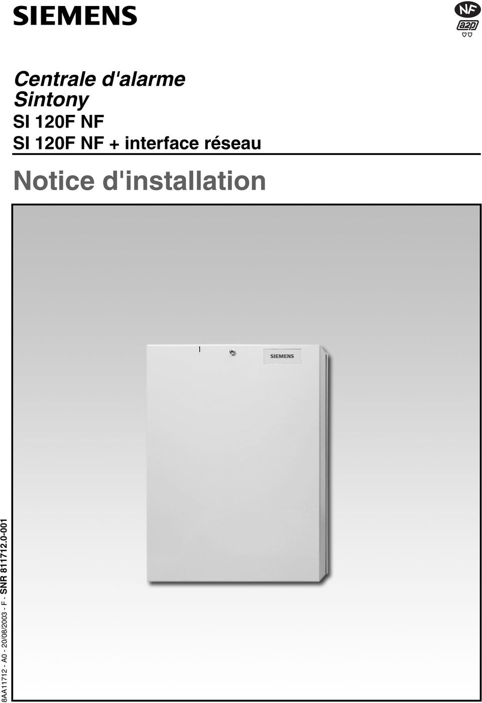 interface réseau Notice