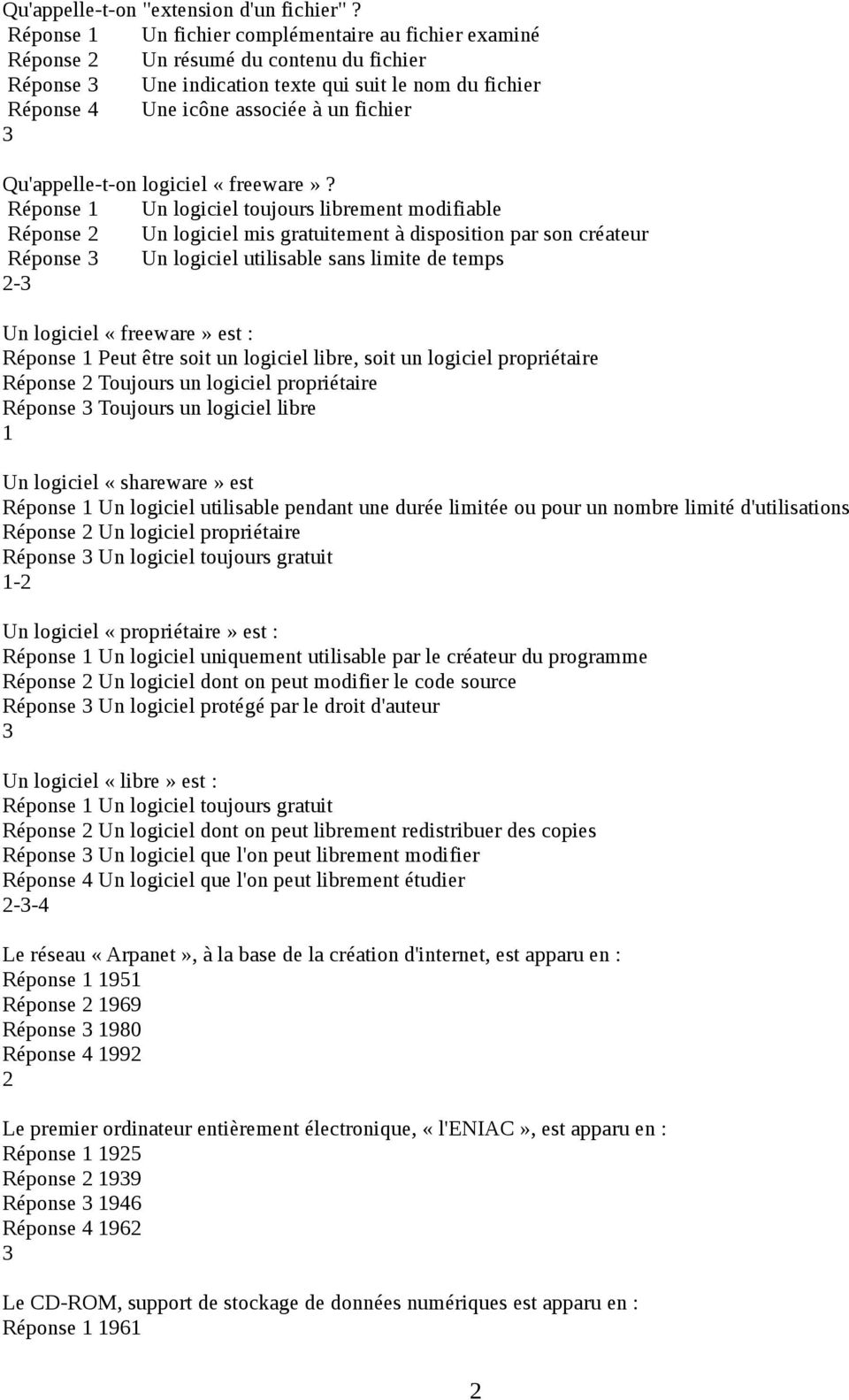 Qu'appelle-t-on logiciel «freeware»?