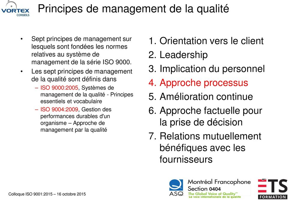 approche processus iso 2015