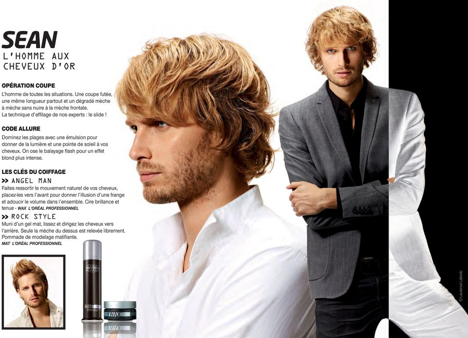 On ose le balayage flash pour un effet blond plus intense.