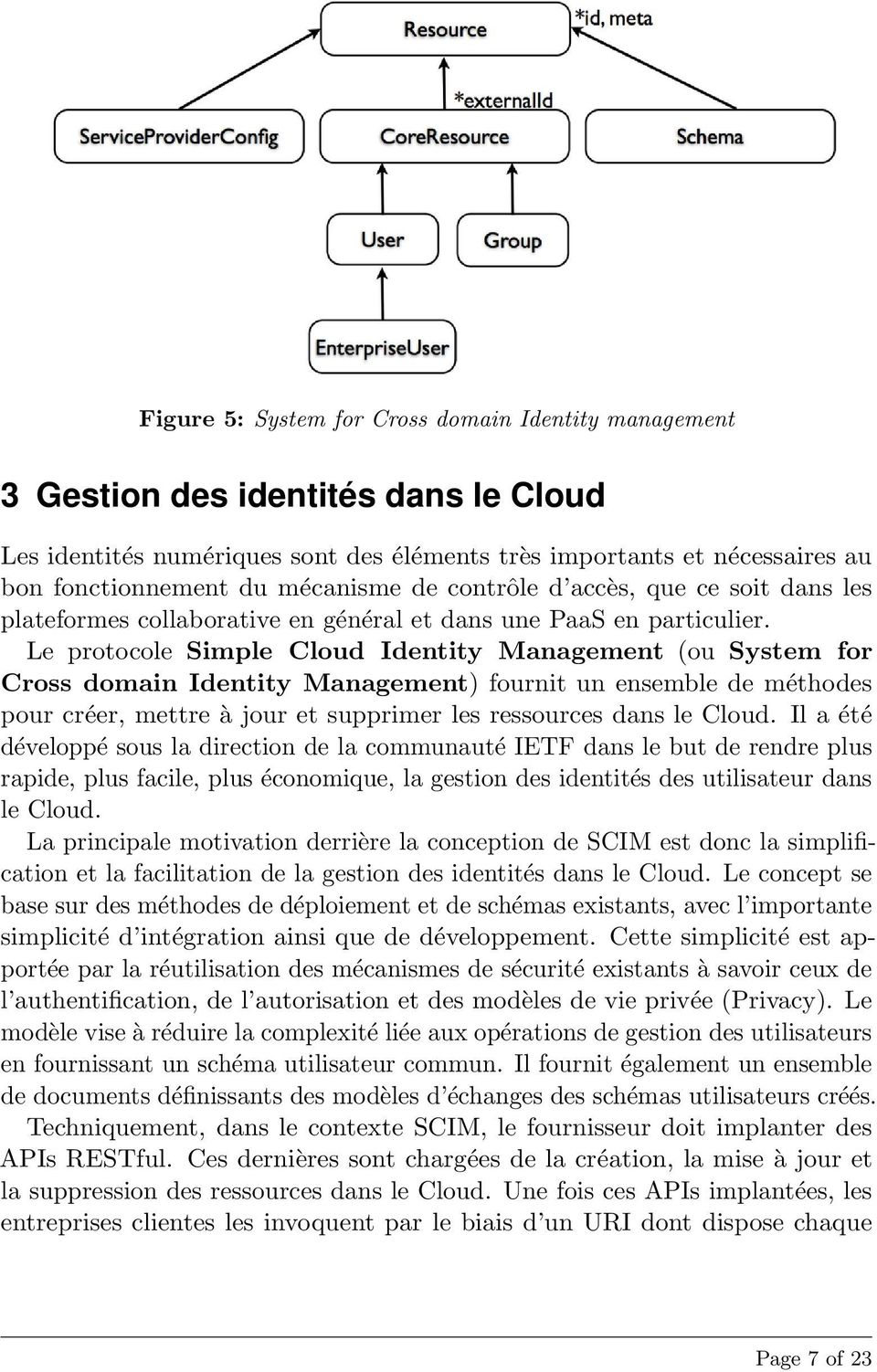 Le protocole Simple Cloud Identity Management (ou System for Cross domain Identity Management) fournit un ensemble de méthodes pour créer, mettre à jour et supprimer les ressources dans le Cloud.