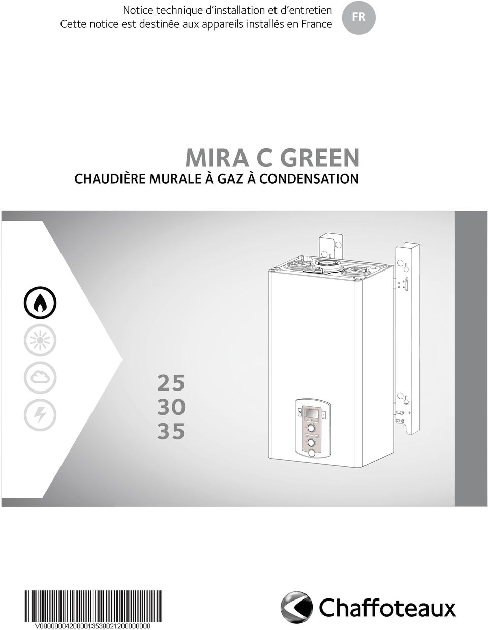 Chaffoteaux chaudiere murale gaz zoom with chaffoteaux - Chaffoteaux mira c green ...