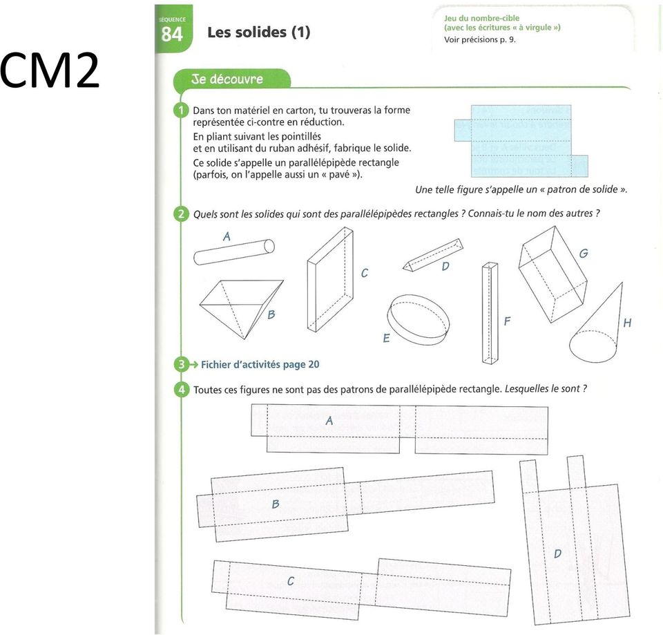 solides exercices cm2
