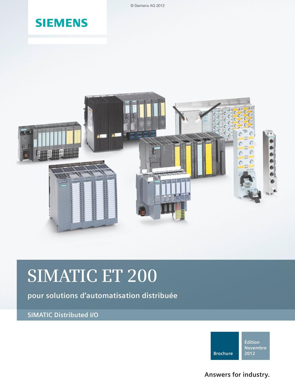 Distributed I/O Brochure Édition