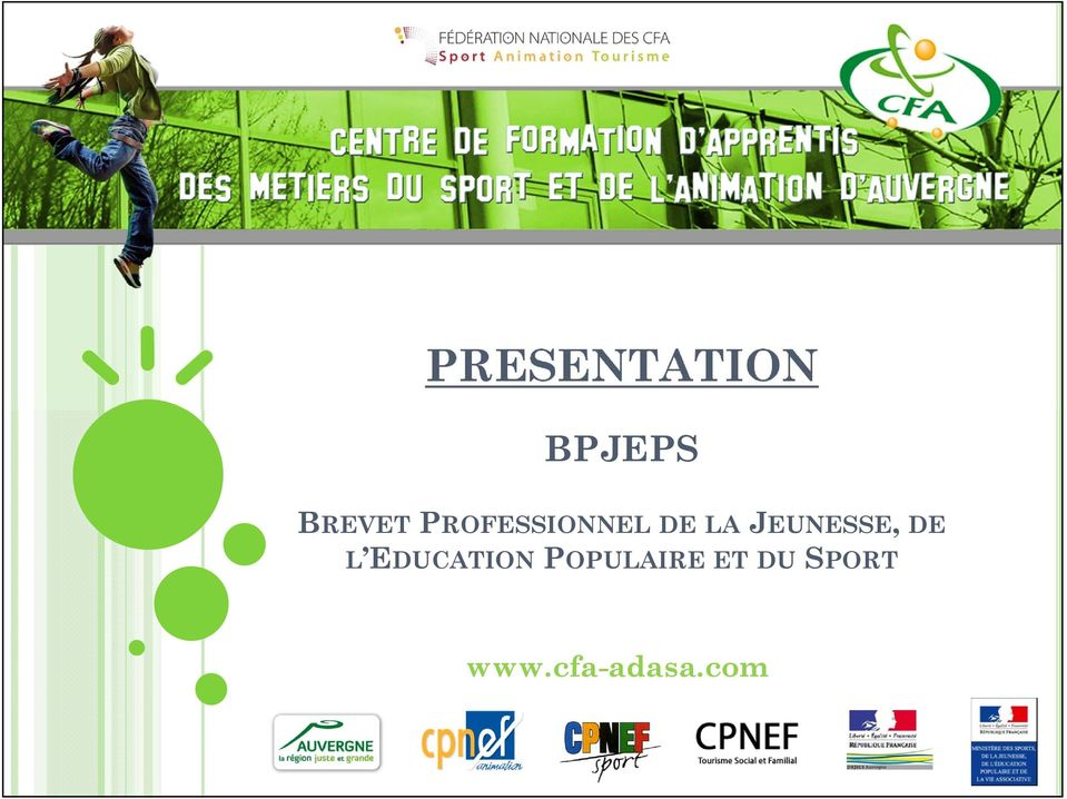 JEUNESSE, DE L EDUCATION
