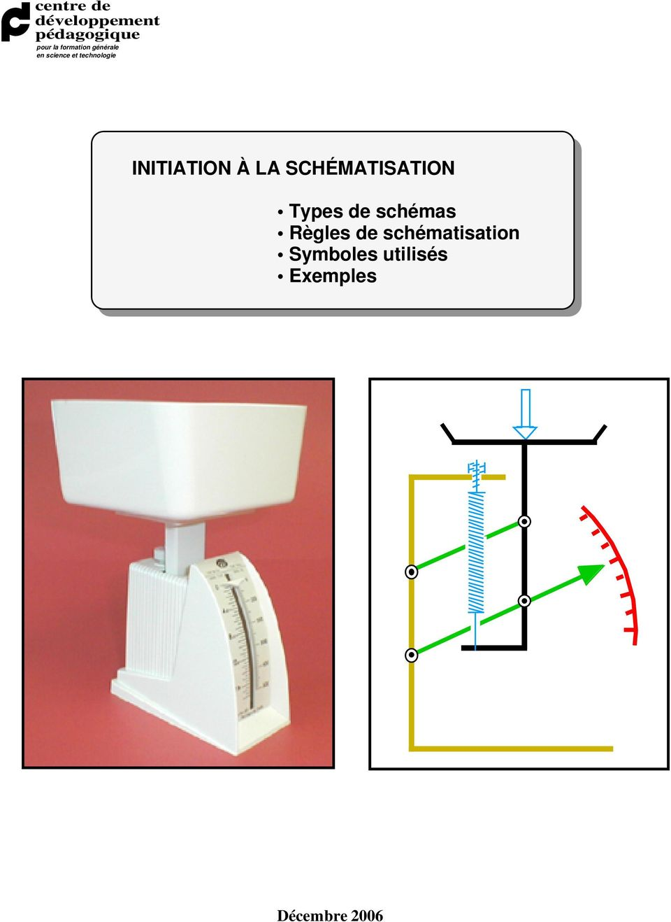 INITIATION À LA SCHÉMATISATION Types de schémas