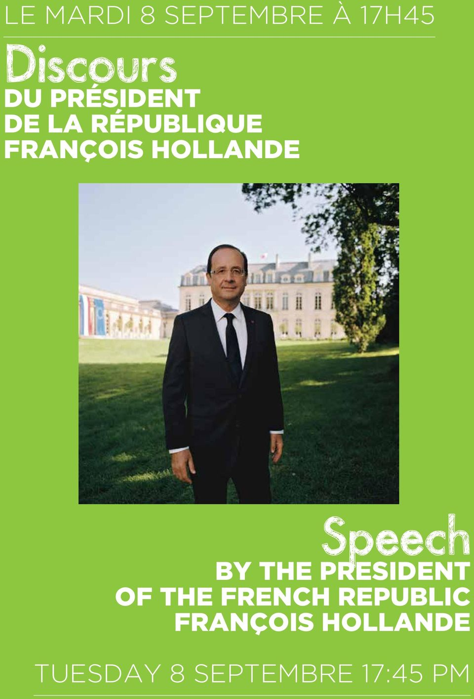 Speech By the President of the FRench