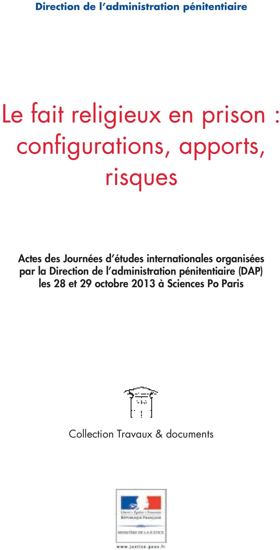 internationales organisées par la Direction de l administration