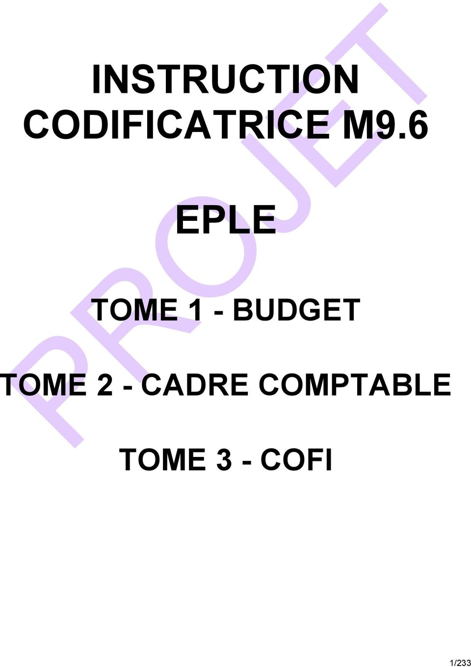6 EPLE TOME 1 - BUDGET