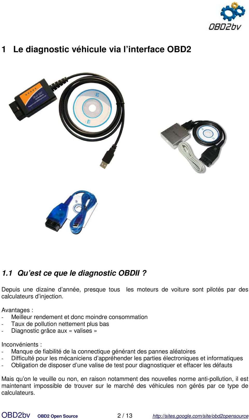 logiciel de diagnostic v hicule obd2bv open source pdf. Black Bedroom Furniture Sets. Home Design Ideas