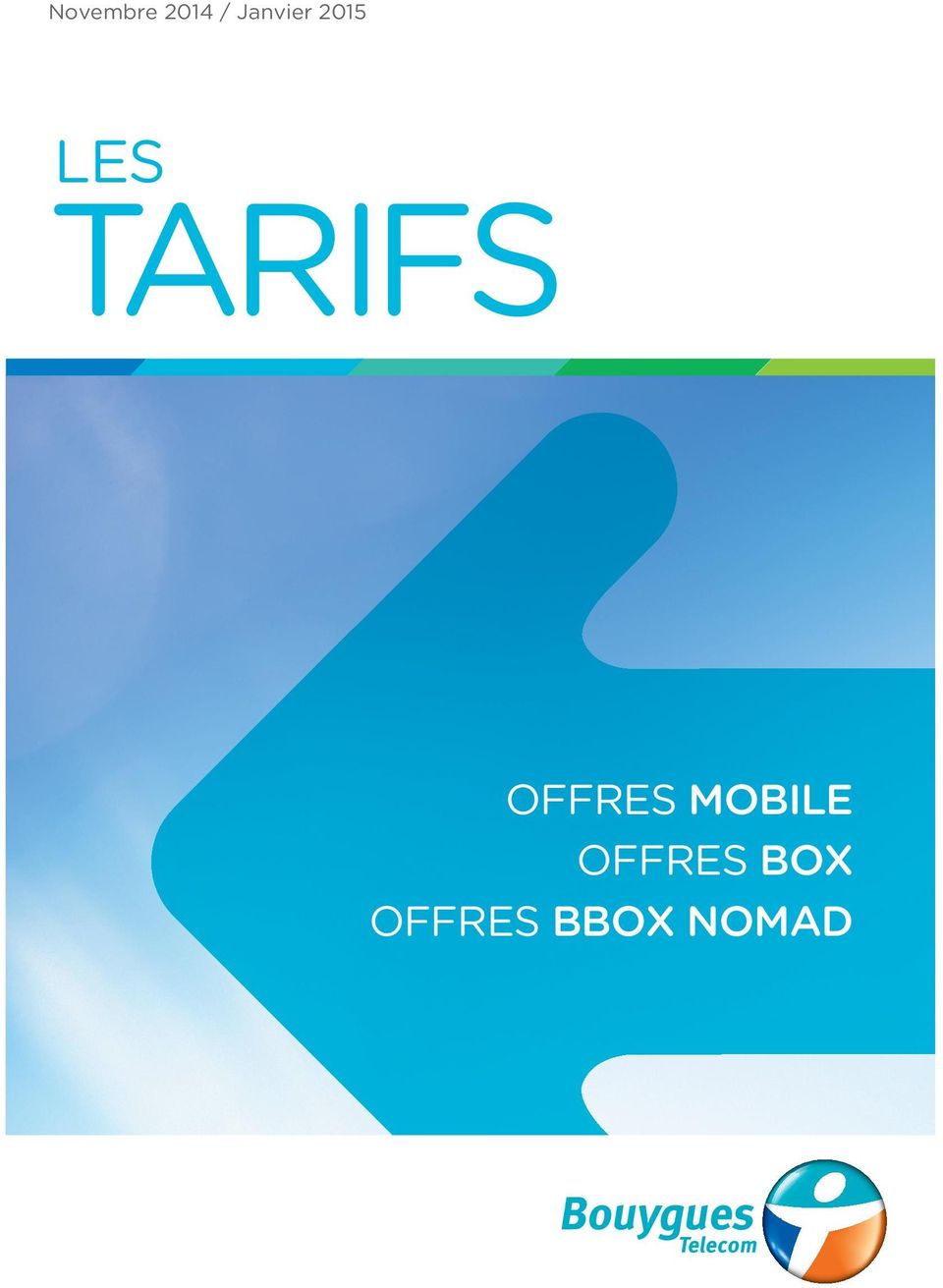 TARIFS OFFRES MOBILE