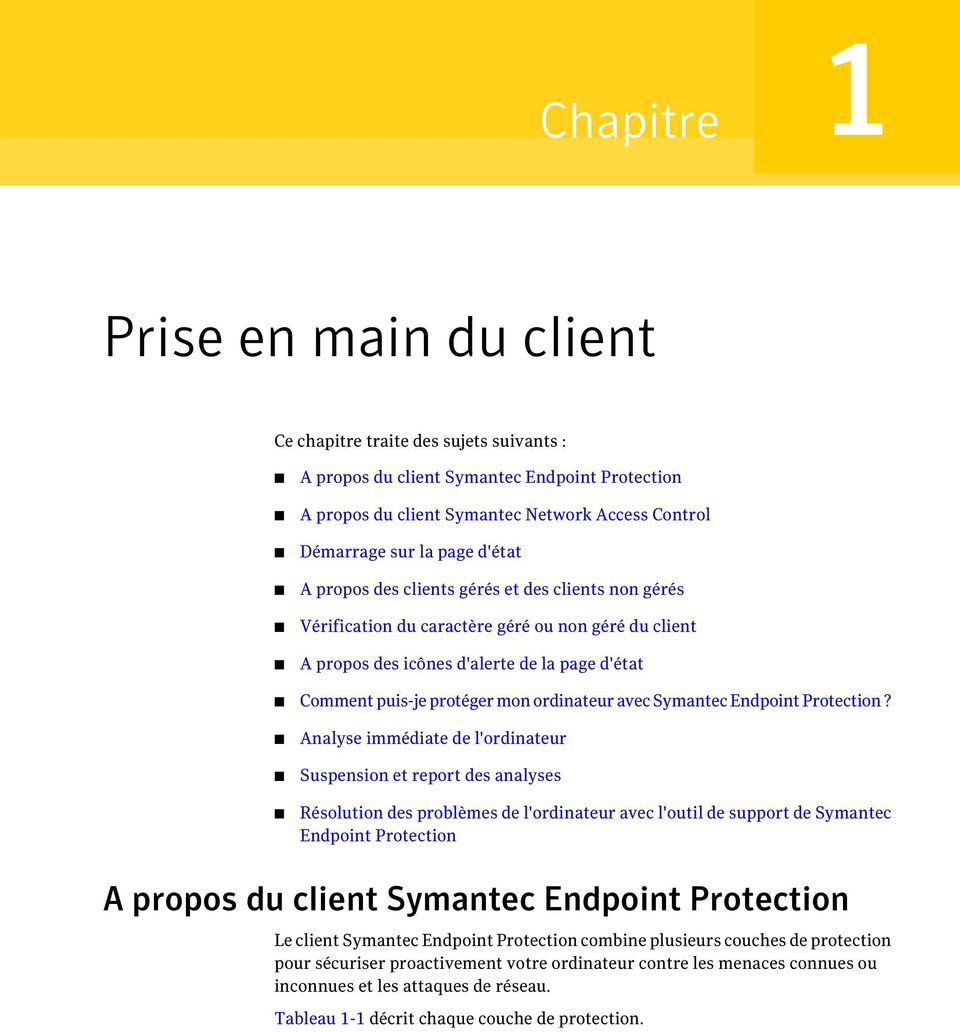 avec Symantec Endpoint Protection?