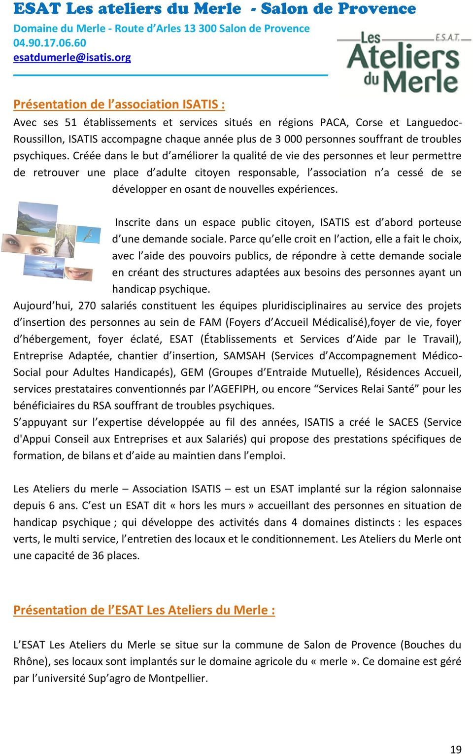 Contact information r f rence presse pdf for Bus salon miramas