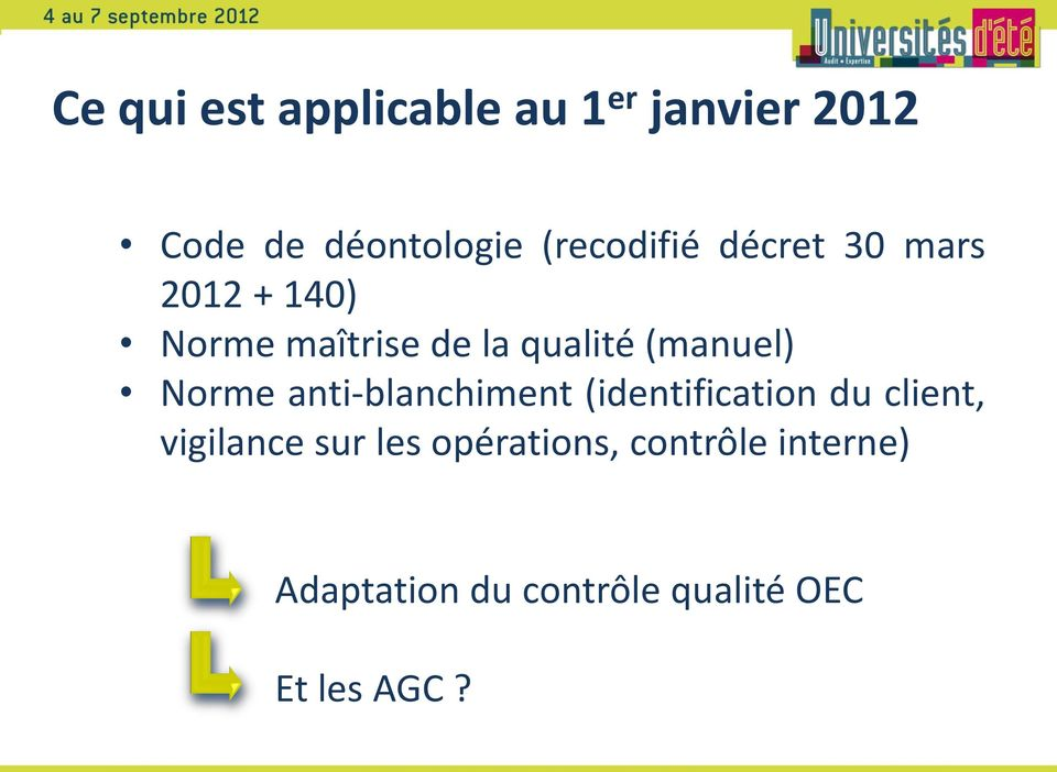 (manuel) Norme anti-blanchiment (identification du client, vigilance