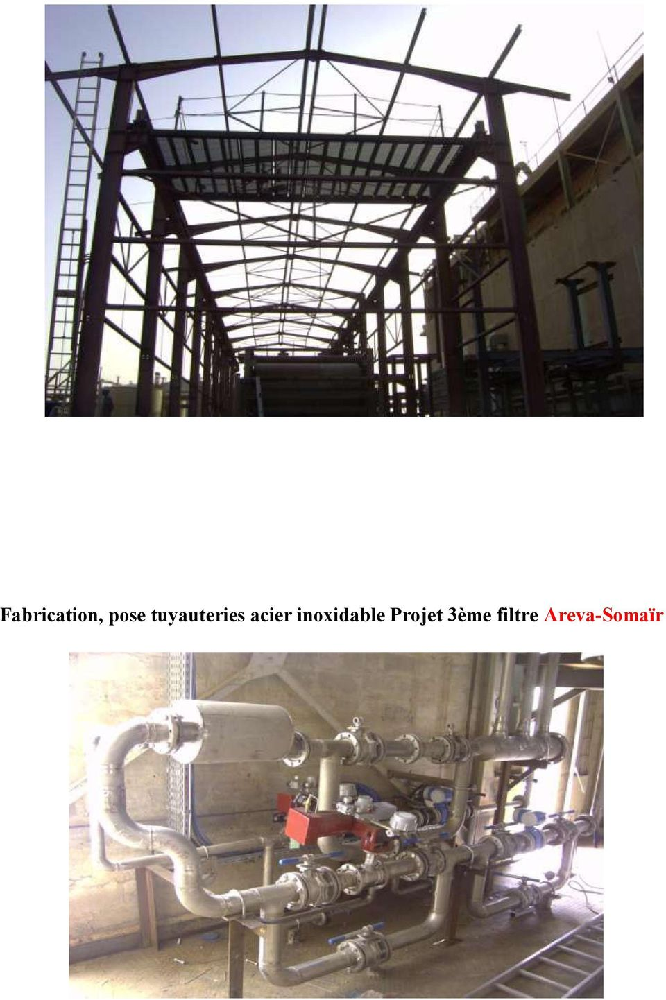 inoxidable Projet