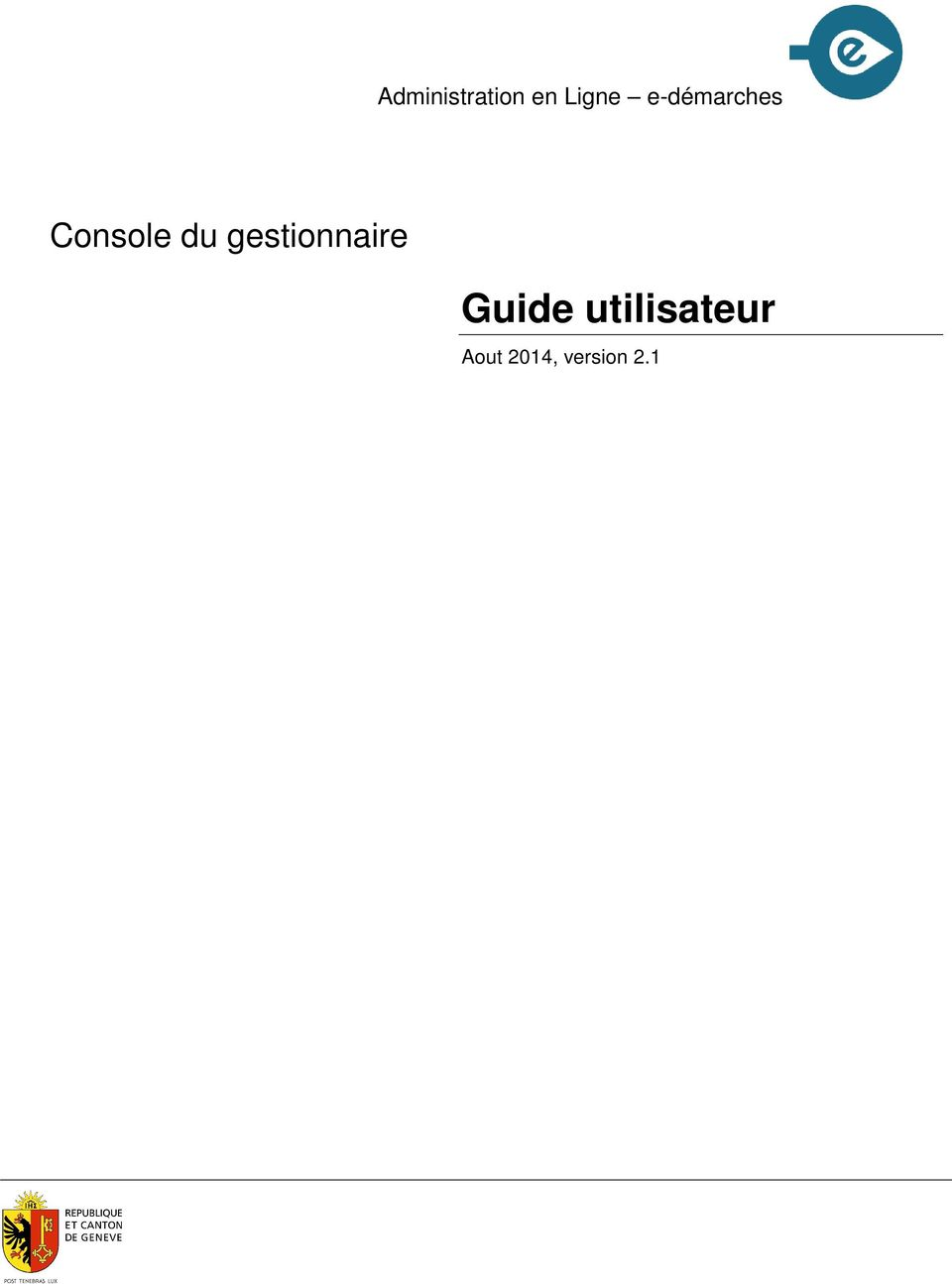 gestionnaire Guide
