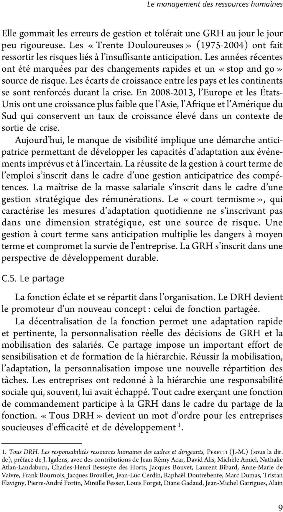peretti jean marie ressources humaines