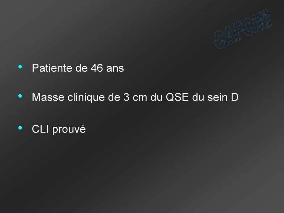 clinique de 3 cm