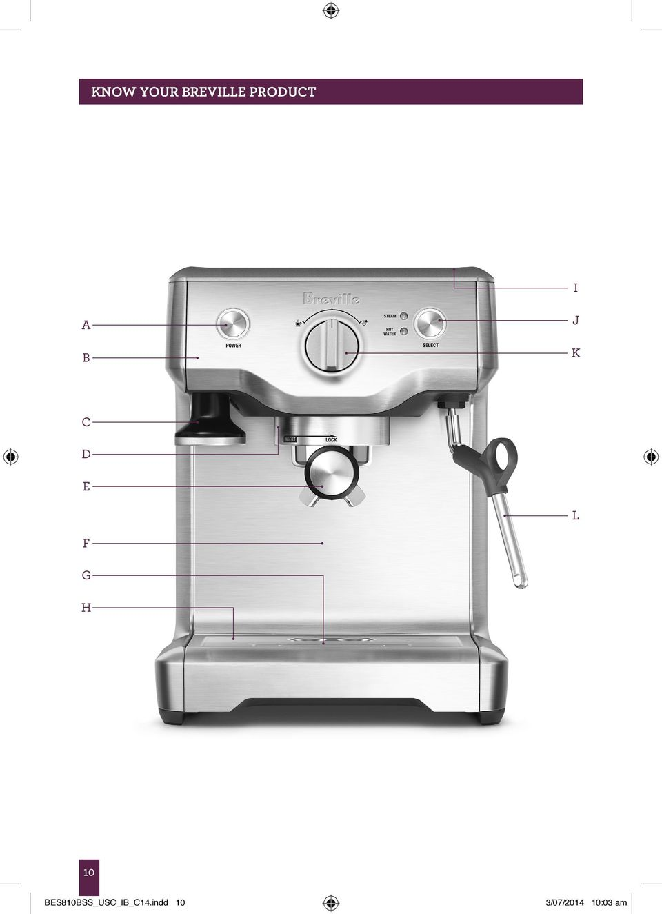 breville nespresso descaling instructions