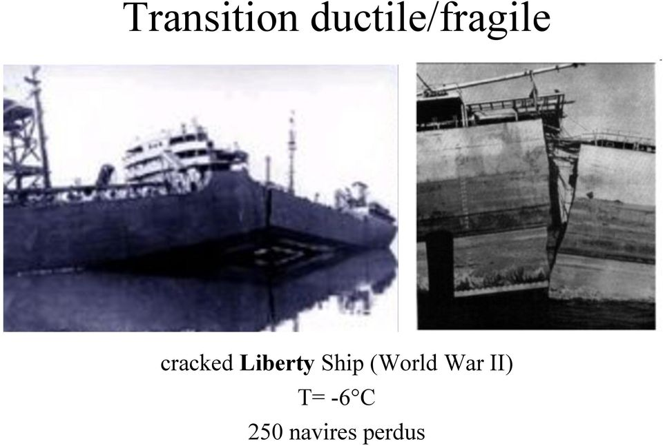 cracked Liberty Ship