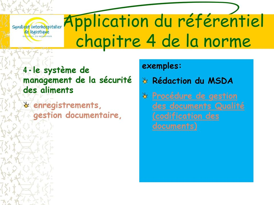 enregistrements, gestion documentaire, exemples: Rédaction du