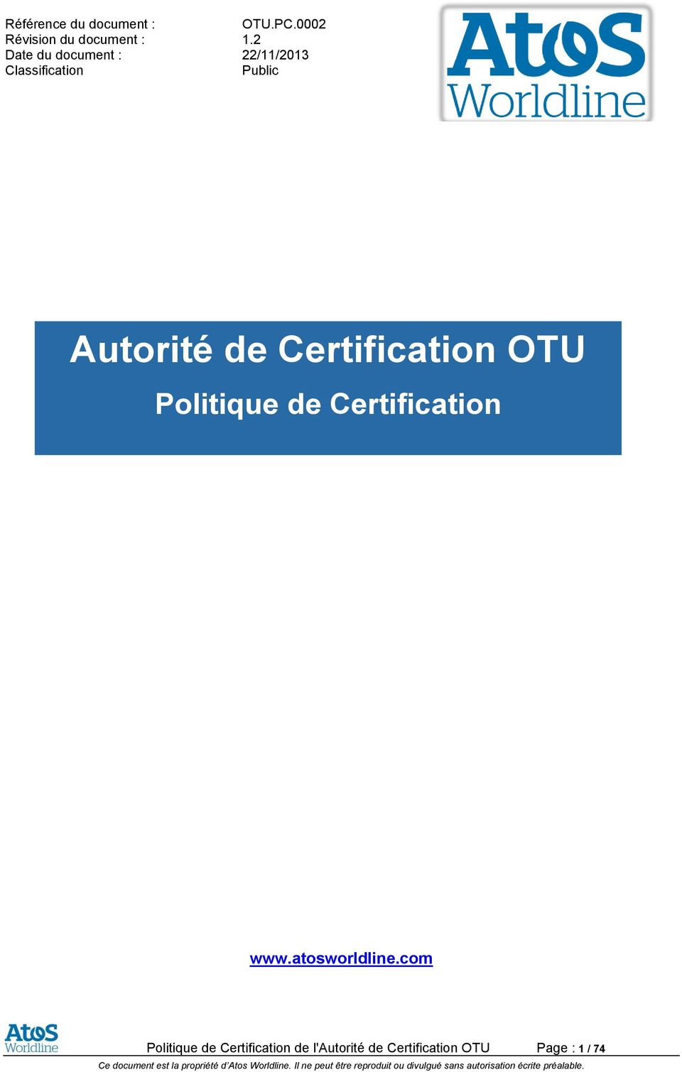 Certification www.atosworldline.