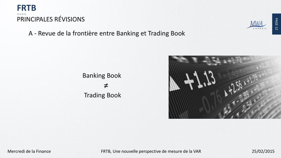 Banking et Trading Book