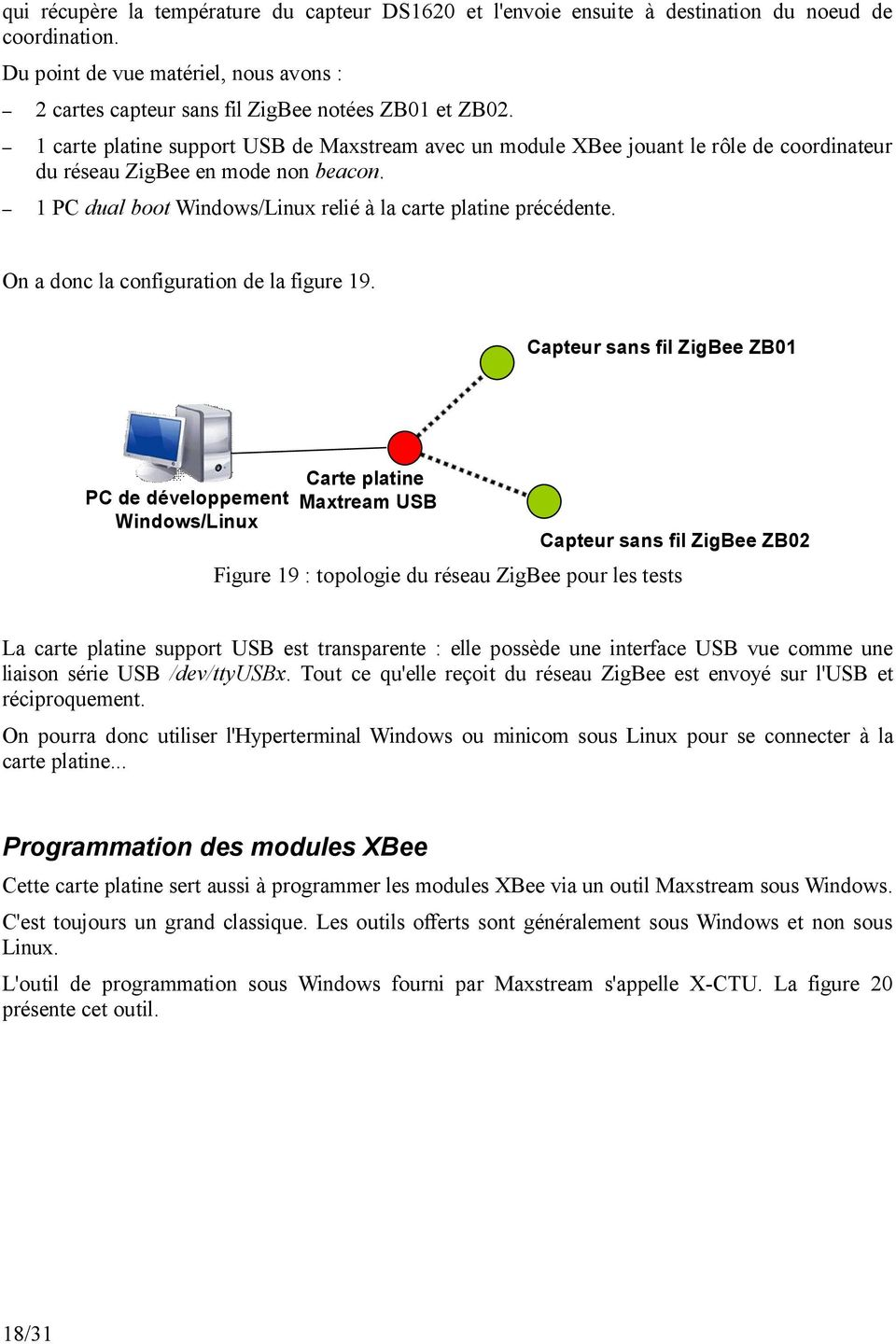 On a donc la configuration de la figure 19.