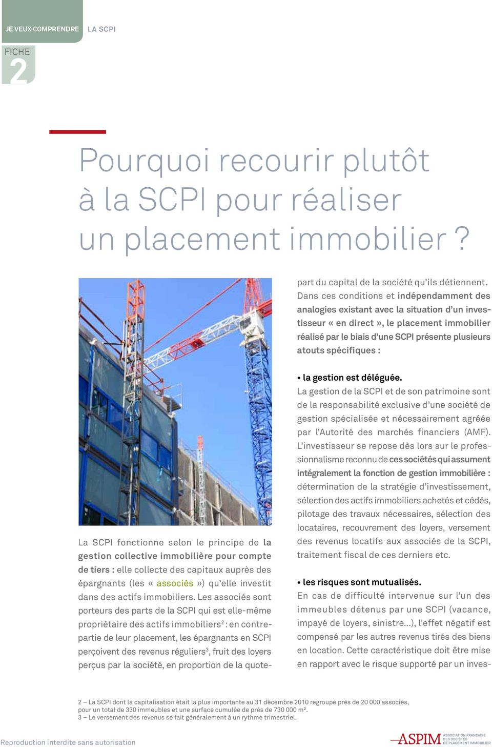 immobiliers.