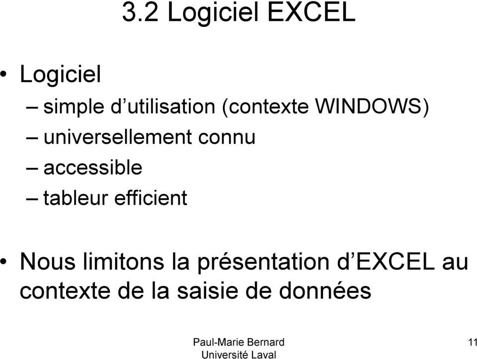 accessible tableur efficient Nous limitons la