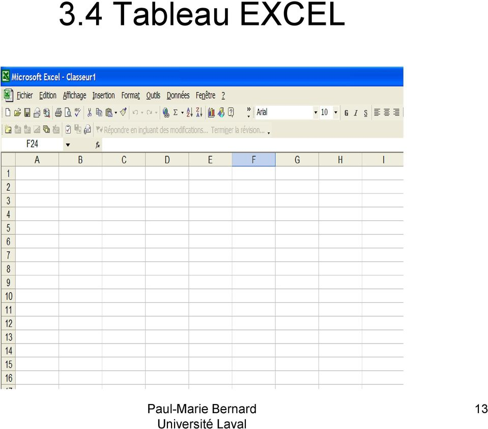 EXCEL 13