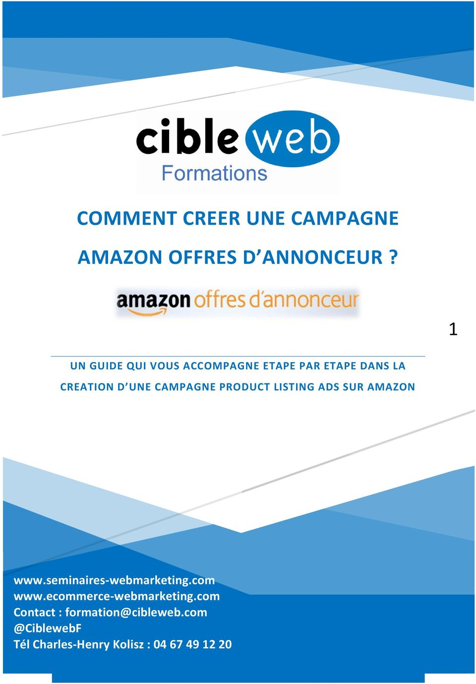 CAMPAGNE PRODUCT LISTING ADS SUR AMAZON www.seminaires-webmarketing.com www.