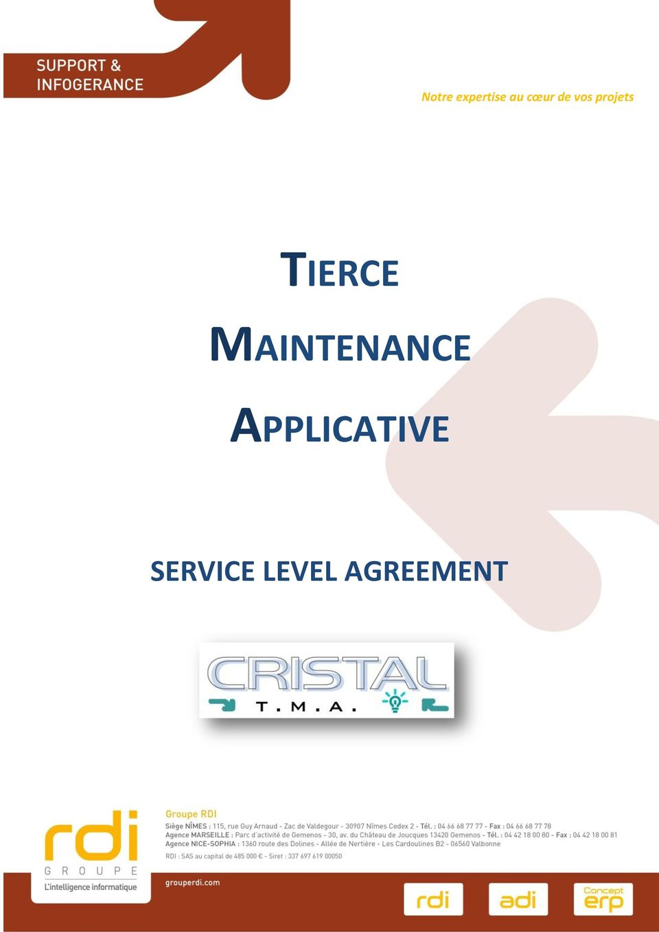 MAINTENANCE APPLICATIVE