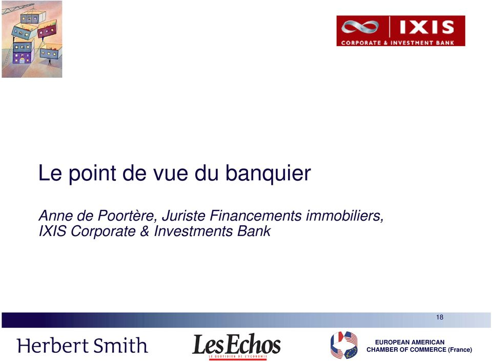 Financements immobiliers,