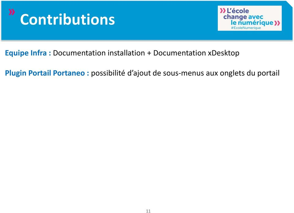 Documentation xdesktop Plugin Portail